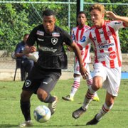 Base: Botafogo empata com o Bangu e vai enfrentar o Fluminense nas quartas da Taça Rio Sub-20