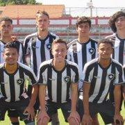 Base: Botafogo sub-17 encerra primeira fase da Taça Rio na liderança geral