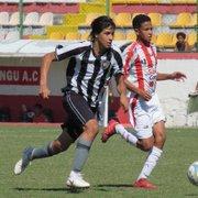 Base: jogador Sub-15 do Botafogo é convocado para a Seleção Boliviana