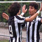 Base: Matheus Nascimento marca e Botafogo avança para semifinal da Taça Rio sub-17