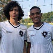 Base: Matheus Nascimento marca, e sub-17 do Botafogo vence Barra da Tijuca; sub-15 também ganha