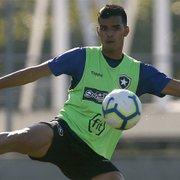 Em busca do 9 no Botafogo, Barroca testa Tanque e Pachu, após Victor Rangel