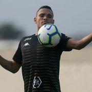 Com febre, Luiz Fernando não treina e é dúvida no Botafogo para jogo com o Caxias-RS