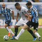 Grêmio x Botafogo rendeu pior audiência da TV Globo em um mês