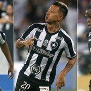 Botafogo deve ter Alan Santos, Leo Valencia e Tanque contra o Palmeiras