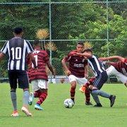 Base: Botafogo leva gol nos acréscimos e perde título da Taça Rio Sub-17 para o Flamengo
