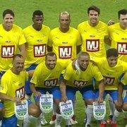 Com ídolos do Botafogo em campo, Brasil vence Israel no Shalom Game. Veja os gols!