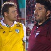 (OFF) Quem sobe: Felipe Tigrão, Eduardo Barroca ou os dois? Série B define acesso neste sábado