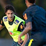 Marcinho, do Botafogo, pede passagem nos treinos da Seleção e pode estrear contra a Nigéria: 'Nível absurdo'