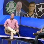 João Pedro?! Palmeiras x Botafogo é apresentado na TV com gafe e como jogo chato para Mano Menezes