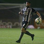 Botafogo escalado com Fernando, João Paulo e Luiz Fernando para enfrentar o Internacional