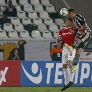 Botafogo não se livra de modo 'secador' e ainda aguarda para mirar 2020