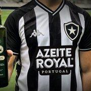 Vice de finanças do Botafogo entende saída da Azeite Royal e fala em 'flexibilizar pagamentos' com patrocinadores