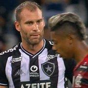 Petkovic ressalta luta do Botafogo, mas vê falha de Carli em gol do Flamengo