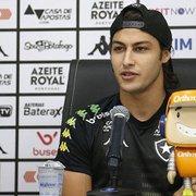 Marcinho diz que motivação é maior no Botafogo por Sul-Americana e analisa 2019: 'Meu ano foi positivo'