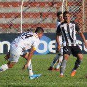 Copa São Paulo: Botafogo tem gol mal anulado e fica no empate em 1 a 1 com o Novorizontino