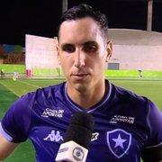 Gatito diz que Botafogo mostrou a cara de Valentim no amistoso no Espírito Santo