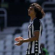 Matheus Nascimento brilha em amistoso e revela sonho: 'Jogar final da Libertadores e fazer gol da vitória do Botafogo'