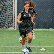 Futebol feminino: Botafogo renova contrato da meio-campista Gaby Louvain