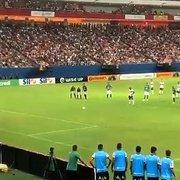 (OFF) Ex-Botafogo, Sassá perde pênalti e Coritiba de Barroca é eliminado na primeira fase da Copa do Brasil