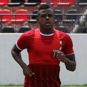 Emprestado, Marcos Vinicius se apresenta ao Botafogo-SP: 'Quero mostrar meu potencial'