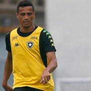 Botafogo: volante Cícero testa positivo para coronavírus e está fora de amistoso