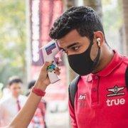 Na Tailândia, ex-jogador do Botafogo posta foto de máscara contra o coronavírus