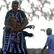 Com portões fechados por causa do coronavírus, Botafogo tem prejuízo na estreia de Honda