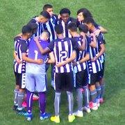 Base: Botafogo sofre goleada de 5 a 0 para o Palmeiras na abertura do Brasileiro Sub-17