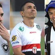 O atacante que coleciona polêmicas e vestiu a camisa de três Botafogos em cinco anos