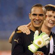 Com respeito a goleiros atuais, Renan fala sobre voltar ao Botafogo no futuro: 'Quem sabe um dia? Tenho vontade'
