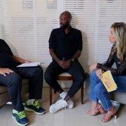Somália explica falso sequestro no Botafogo, e Joel brinca: 'É ruim dele ser sequestrado, escorregadio para caramba'