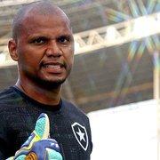 Jefferson quer matar saudade de treinar no Botafogo; Flávio Tênius abre as portas para o ídolo