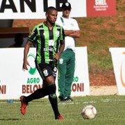 Emprestado pelo Botafogo, Rickson deve trocar o América-MG pelo Guarani