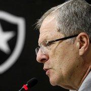 Ex-presidente, CEP desabafa contra diretoria do Botafogo: 'Chega de incompetência'
