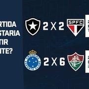Vote! SporTV abre enquete e pode reprisar jogo do tetra do Botafogo no Rio-São Paulo em 98