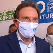 Crivella não garante volta do público aos jogos de futebol no Rio em 10 de julho