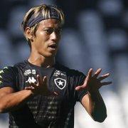 Fisiologista aponta crescimento de Honda no Botafogo: 'Dados dele vêm em evolução'