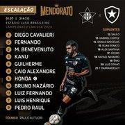 Com Paulo Autuori de volta, Botafogo tem quatro mudanças para encarar a Portuguesa na Ilha