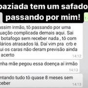 Golpista usa salários atrasados no Botafogo para lesar contatos de ex-jogador do clube no WhatsApp