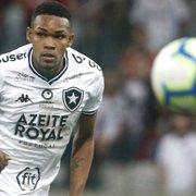 Lateral é operado após lesão séria no joelho, segura saída de Hugo e fica fora do Botafogo até 2021