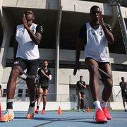 Presente x passado: nova defesa do Botafogo reencontra antigos titulares diante do Atlético-MG