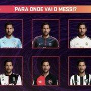 Messi no Botafogo? TV coloca clube em lista de opções para craque: 'Tem sonhado alto nas sondagens'
