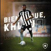 Empresário revela que Kalou vê Botafogo como 'cereja do bolo na carreira'