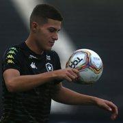 Botafogo estuda promover jogadores da base para suprir saída de trio; veja quem são
