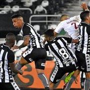 FOTOS: Nova parceira do Botafogo, Eletromil faz estreia no uniforme em amistoso; veja como ficou