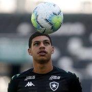 Botafogo: Luis Henrique começa a estudar inglês, elogia Honda e Kalou e se inspira em Neymar