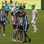 Botafogo pode alcançar marca do time de 2007 contra o Internacional