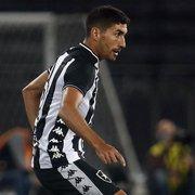 Fora dos planos do Botafogo, Barrandeguy possui o quinto maior salário do elenco
