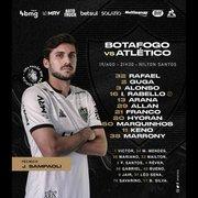 Rival: Igor Rabello, ex-Botafogo, é a principal novidade no Atlético-MG para jogo desta noite